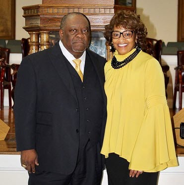 Bishop Paden and Elect lady